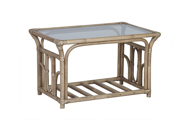 Lana Cane Coffee Table