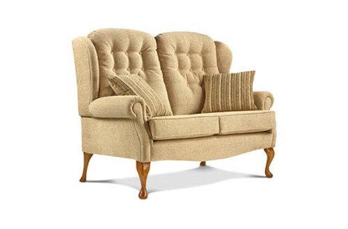 Sherborne Lynton 2 Seater High Seat Legged Sofa