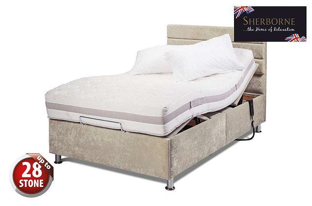 Sherborne Hampton 120cm Single Head & Foot Adjustable Divan Bed