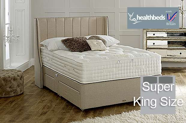 Health Beds Kensington 4500 Super King Size Divan Bed