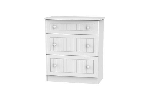 Welcome Bedroom Warwick 3 Drawer Deep Chest