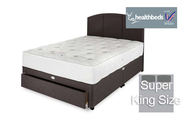 Healthbeds Manhattan 1000 Super King Size Divan Bed