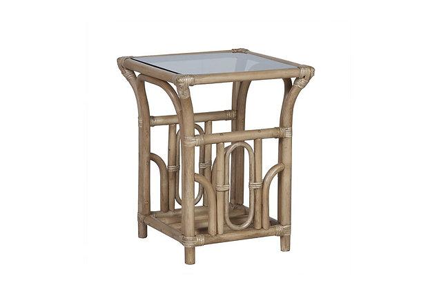 Lana Cane Side Table