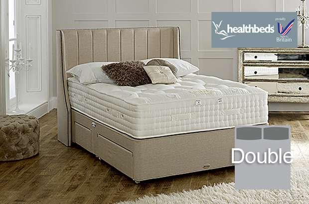 Health Beds Kensington 4500 Double Divan Bed