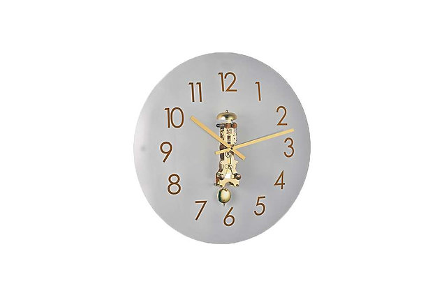 Lauren – Glass Mechanical Wall Clock