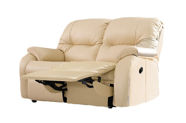 G Plan Mistral Leather Right Hand Facing Single Power 2 Seater Recliner Sofa