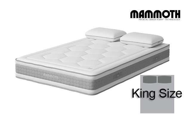 Mammoth Shine Essential Medium Pocket King Size Mattress