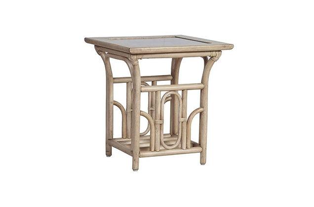 Catania Cane Side Table