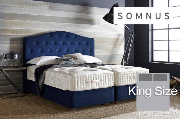 Somnus Marquis 14000 King Size Divan Bed