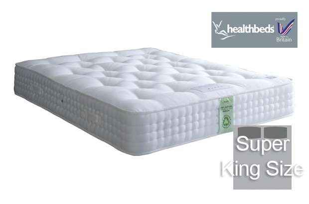 Healthbeds Ultimate Natural 2000 Super King Size Mattress