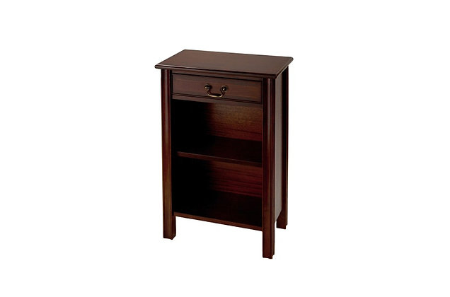 Ashmore Simply Classical 1 Drawer Open Hall Cupboard Chippendale