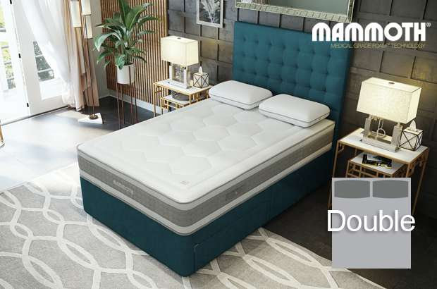 Mammoth Shine Essential Plus Softer Double Divan Bed