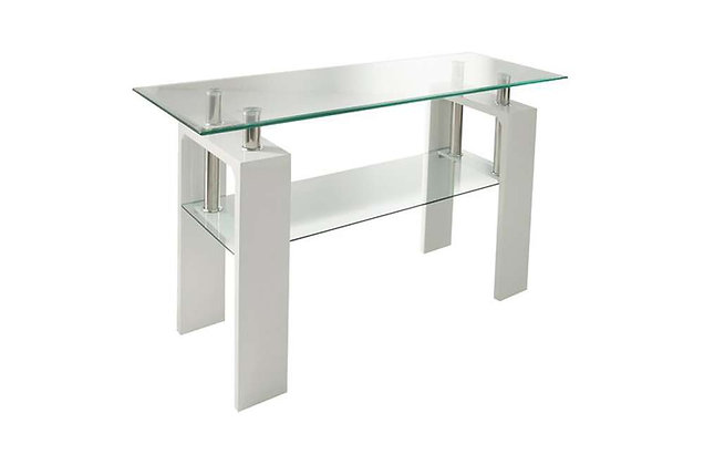 Calico Console Table - White