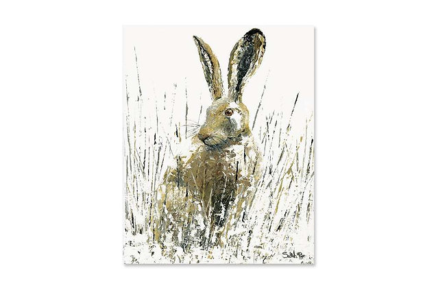 Snow Hare by Sarah Pye