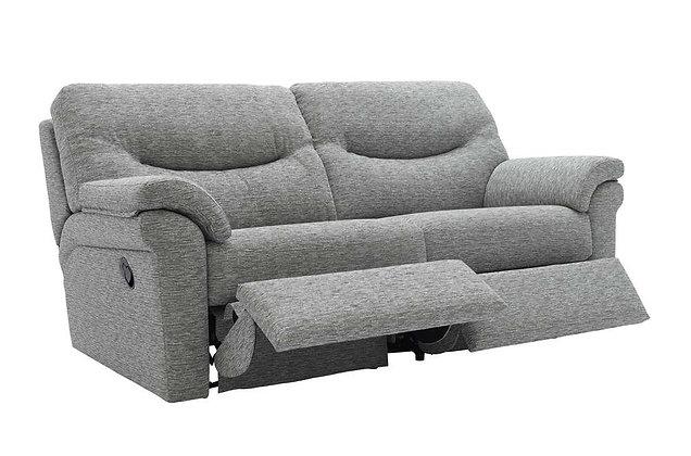 G Plan Washington 3 Seater Double Recliner Sofa