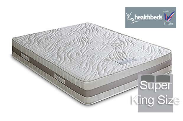Health Beds Active Life 4000 Super King Size Mattress