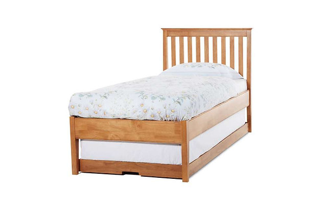 Grace Low Foot End Guest Bed - Cherry