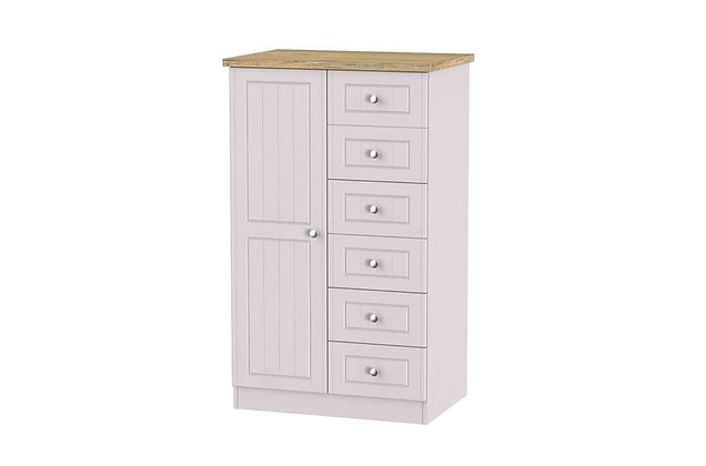 Welcome Bedroom Vienna Child's Wardrobe with 6 Drawers