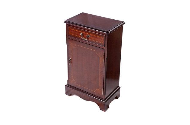 Ashmore Simply Classical 1 Door Bookcase