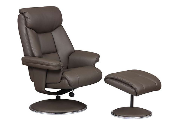 Biarritz Swivel Recliner Chair & Footstool