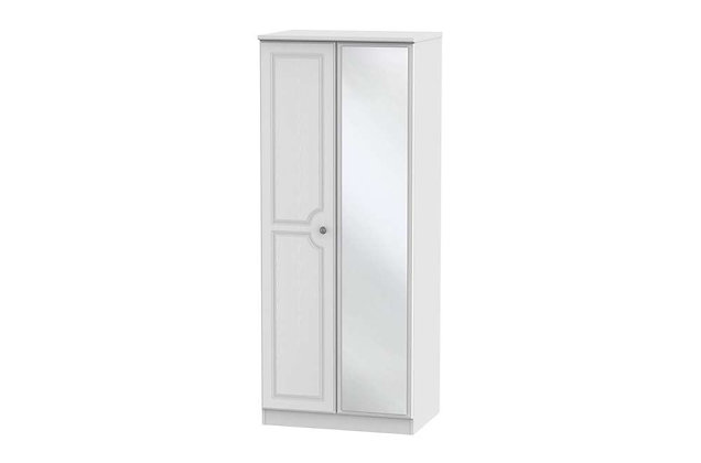 Pembroke 2ft6in Double Wardrobe with Mirror