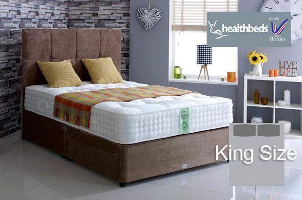 Healthbeds Ultimate Natural 3000 King Size Divan Bed