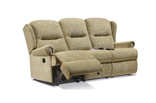 Sherborne Malvern Small 3 Seater Manual Recliner Sofa