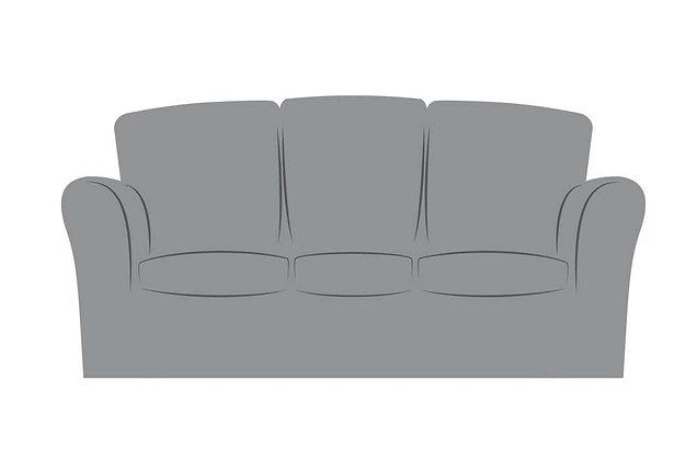 Fenice Leather 3 Seater Sofa