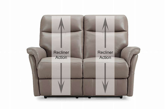 Verona Leather 2 Seater Recliner Sofa