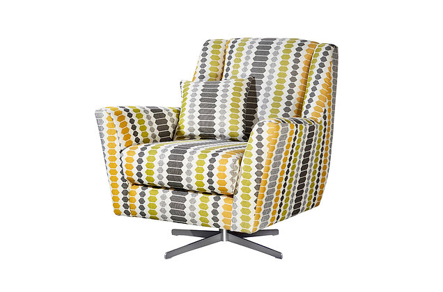 Candice Accent Swivel Chair