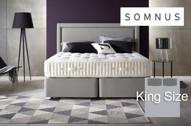 Somnus Sovereign 16000 King Size Divan Bed