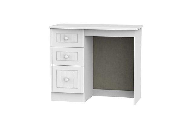 Welcome Bedroom Warwick 3 Drawer Vanity Dressing Table