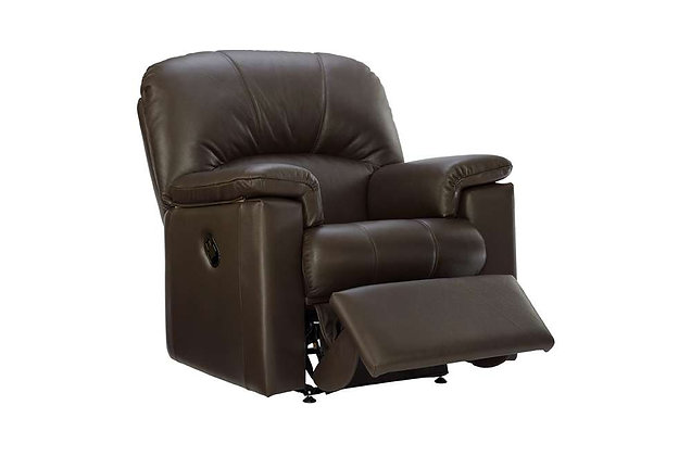 G Plan Chloe Leather Manual Recliner Chair