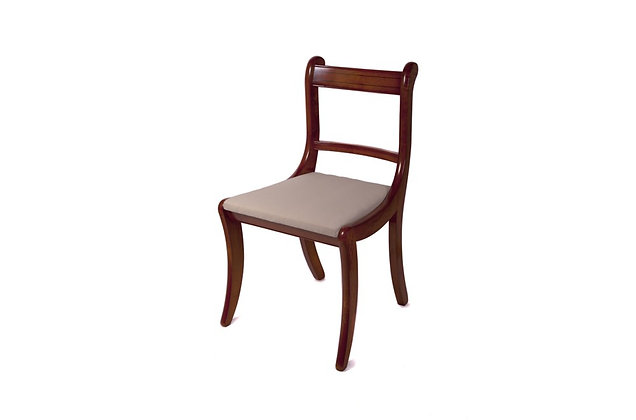 Ashmore Simply Classical Scroll Dining & Carver Chairs