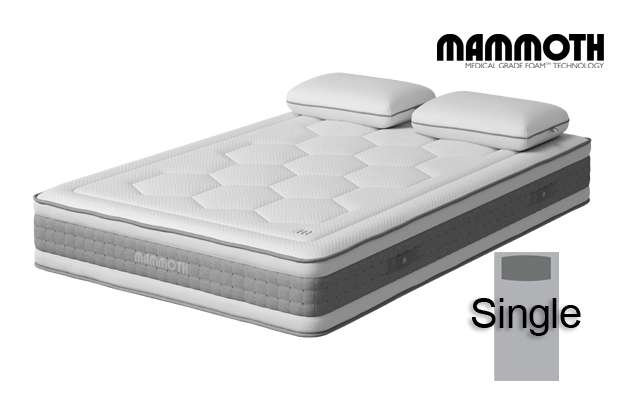 Mammoth Shine Essential Plus Softer Single Mattress