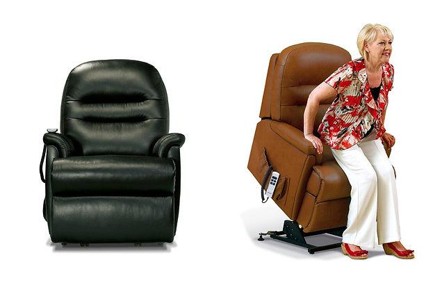 Sherborne Keswick Leather Petite Lift & Rise Care Recliner Chair