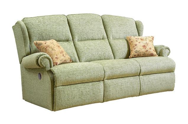 Sherborne Claremont Standard 3 Seater Power Recliner Sofa