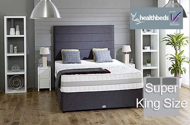 Health Beds Active Life 4000 Super King Size Divan Bed