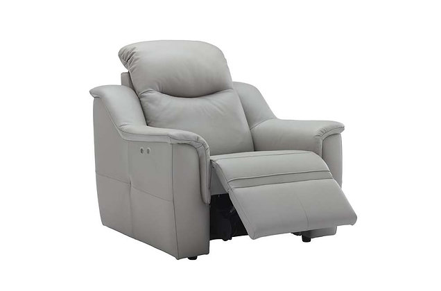 G Plan Firth Leather Power Recliner Chair