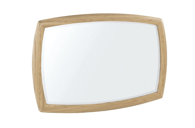 Shades Oak Wall Mirror