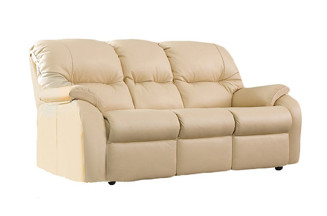 G Plan Mistral Leather Small 3 Seater Sofa
