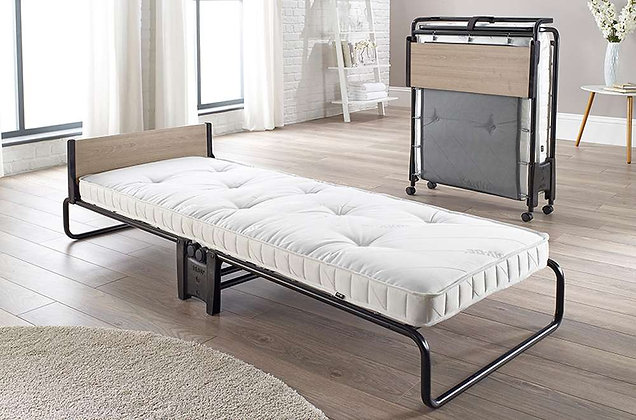 77cm Pocket Sprung Folding Bed with Headboard