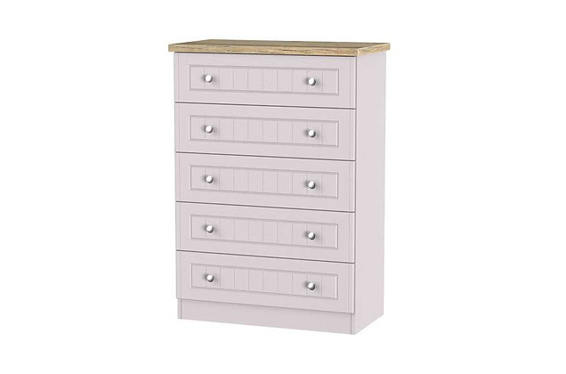 Welcome Bedroom Vienna 5 Drawer Chest