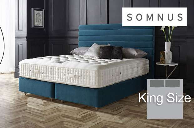 Somnus Legend 22,500 King Size Divan Bed