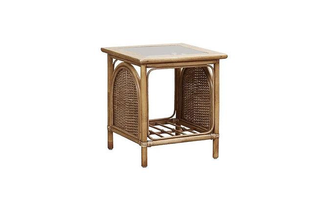 Bari Cane Side Table