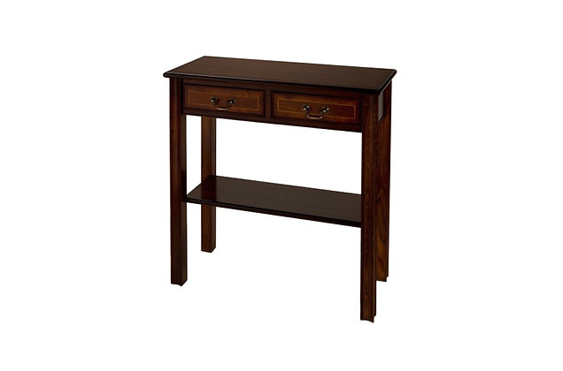 Ashmore Simply Classical 2 Drawer Chippendale Hall Table