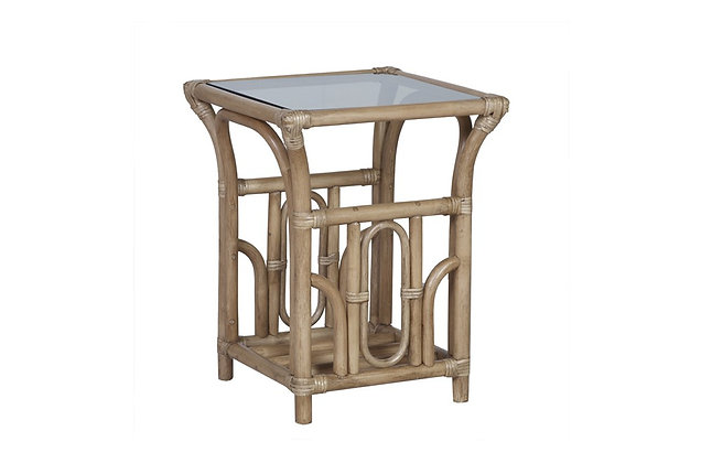 Pesaro Cane Side Table