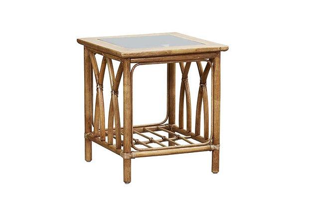 Asti Cane Side Table