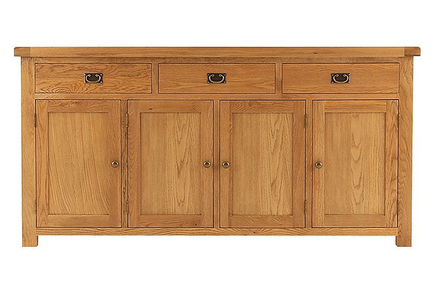 Oakwood 4 Door Sideboard