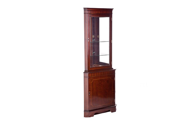 Ashmore Simply Classical Corner Display Cabinet